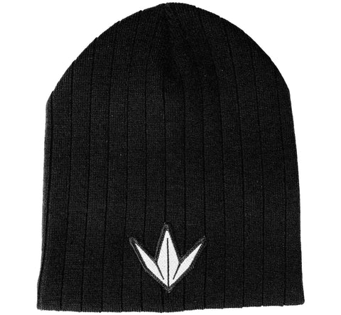 Beanie ribbed crown