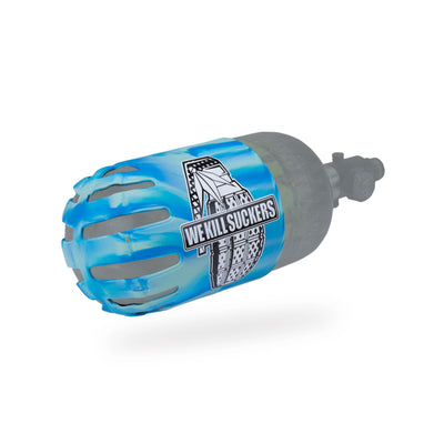 Bunker Kings - Knuckle Butt Tank Cover - WKS Grenade - Cyan