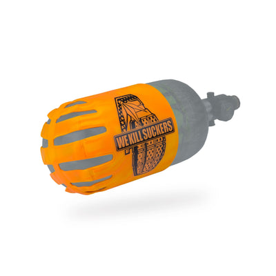 Bunker Kings - Knuckle Butt Tank Cover - WKS Grenade - Orange