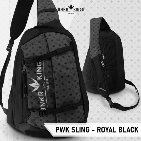 Bunkerkings PWK Sling - Royal Black - Kickstarter Reward