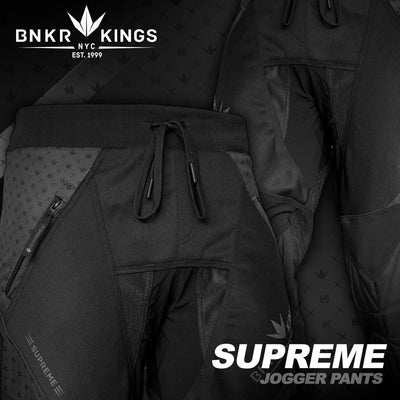 Bunkerkings Supreme Jogger Pants - Royal Black