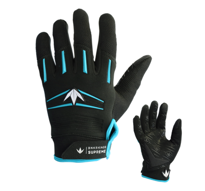 zzz - Bunkerkings Supreme Gloves - Cyan
