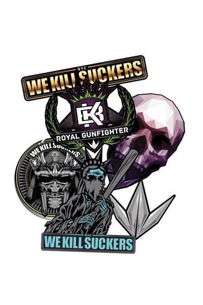 zzz - Bunkerkings Assorted Sticker Pack