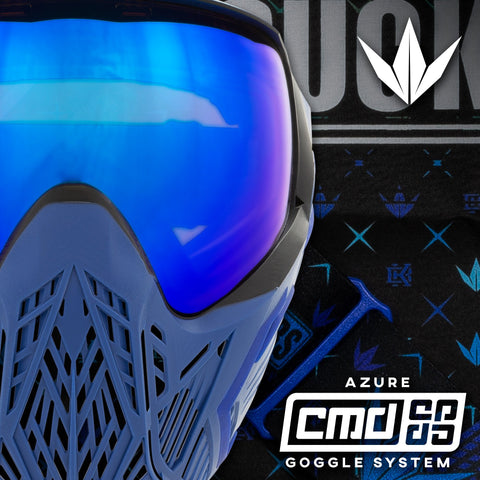 zzz - Bunkerkings CMD Goggle - Blue Azure