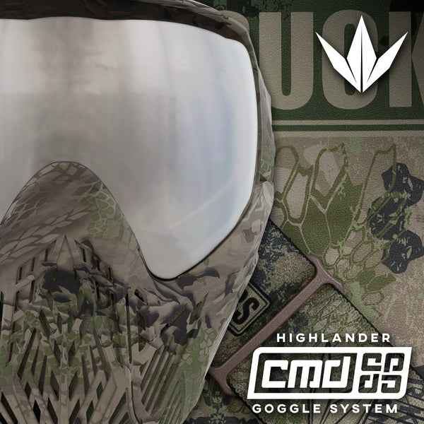 Bunkerkings CMD Goggle - Highlander Camo
