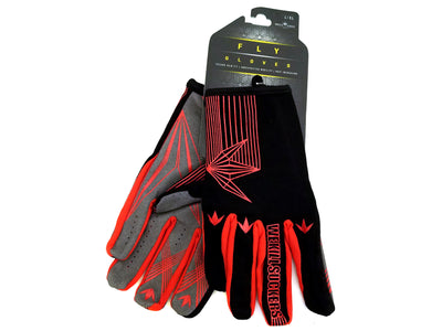 Bunkerkings Fly Paintball Gloves - Red