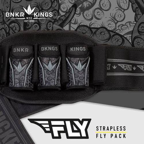 Bunkerkings Fly Pack - 3+4 Black Tentacles