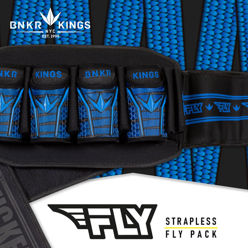Bunkerkings Fly Pack - 4+7 Blue Laces