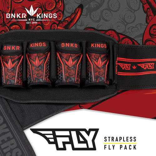 Bunkerkings Fly Pack - 4+7 Red Tentacles