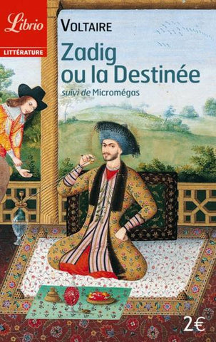 Cover Art Zadig ou le Destinee, by Voltaire