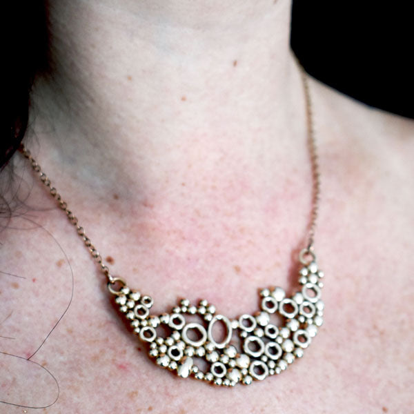 Bubbles Necklace Translucent