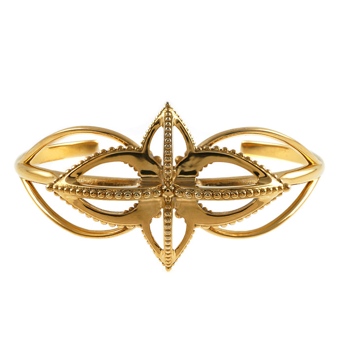Emira Statement Cuff Bronze