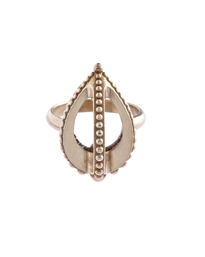 Emira Fin Ring Bronze