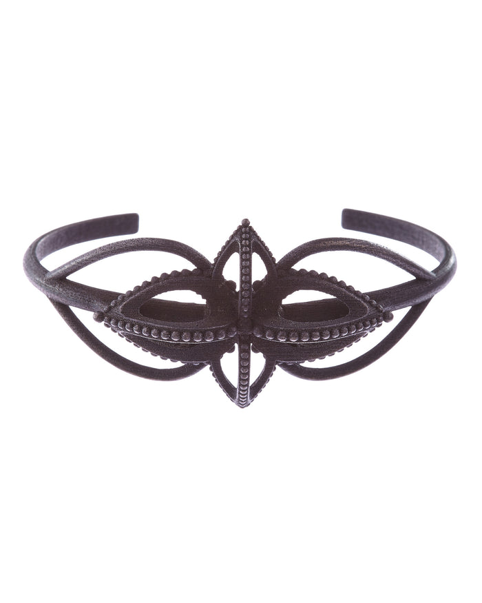 Emira Statement Cuff Steel