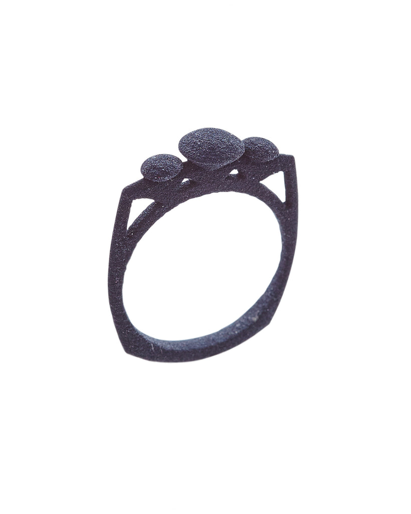 Triella Ring Dark Steel