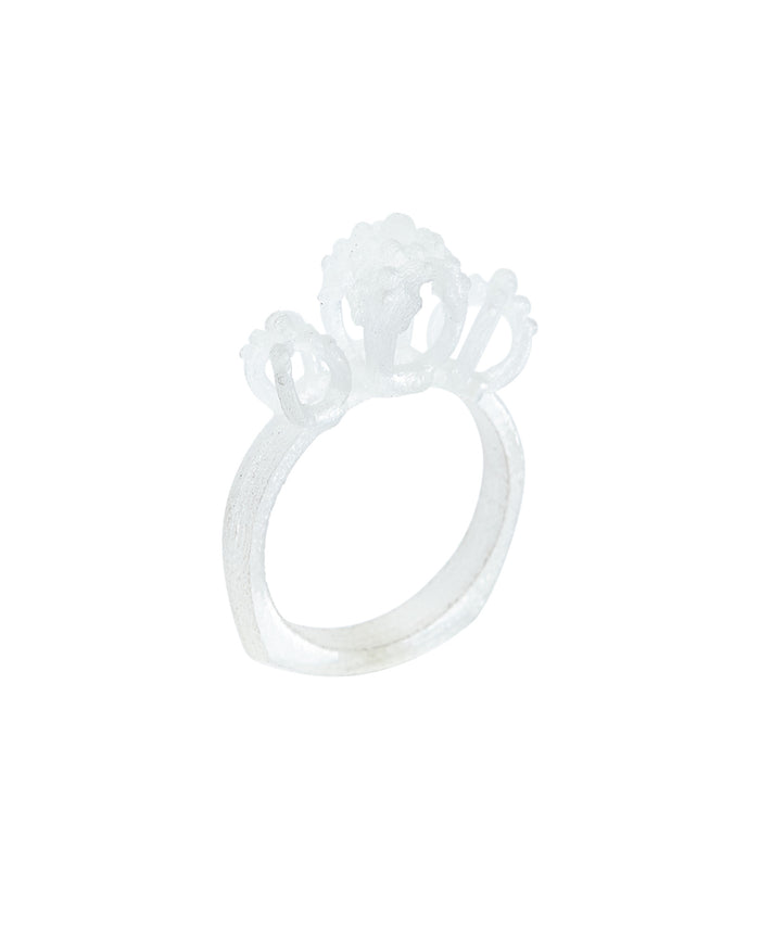 Emira Triple Dome Ring Translucent