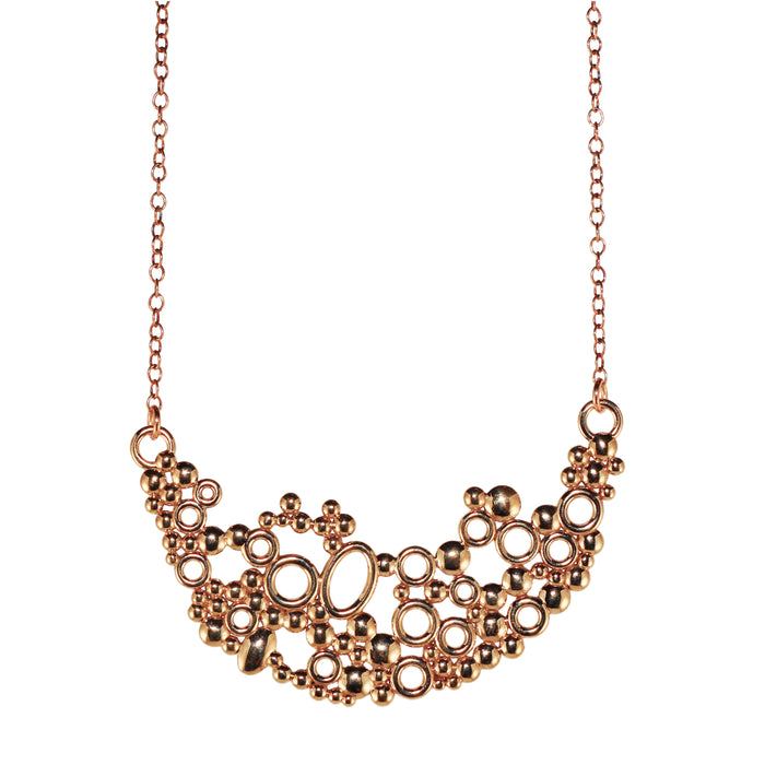 Bubbles Necklace Bronze
