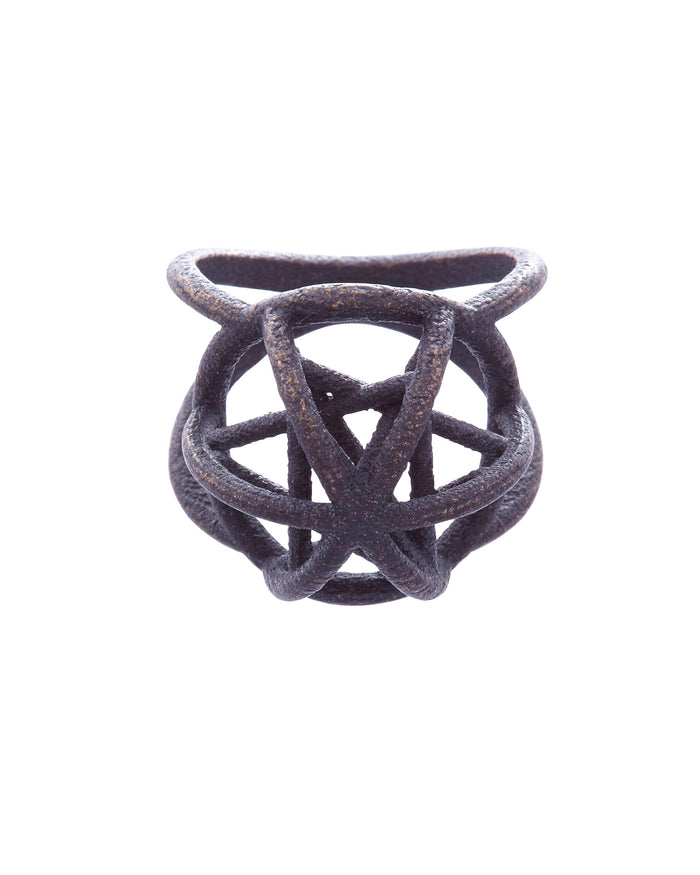 Hidden Star Ring Steel