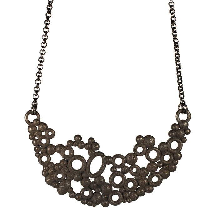 Bubbles Necklace Steel
