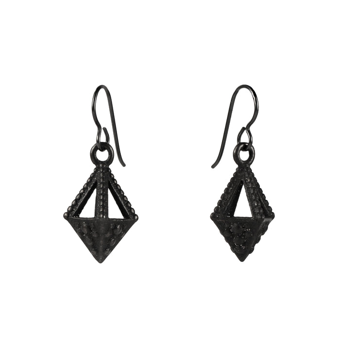 Emira Pyramid Drop Earrings