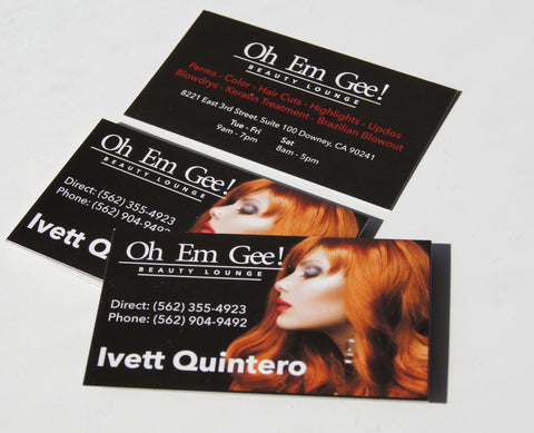 Business Cards Standard Paper Stock