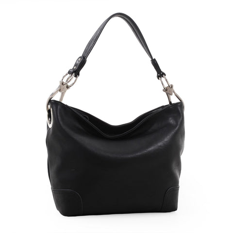 Lydia Concealed Carry Lock and Key Hobo Handbag EO