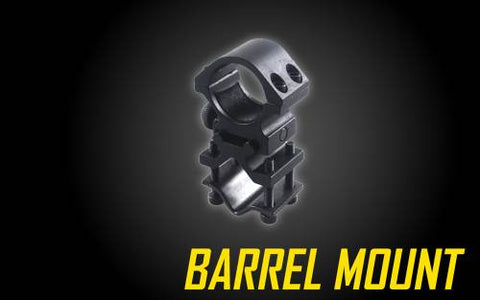 NITECORE UNIVERSAL BARREL & RAIL MOUNT FOR TACTICAL FLASHLIGHTS