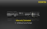 NITECORE MT20A CREE XP-G2 R5 LED FLASHLIGHT 360 LUMEN W/ RED LED