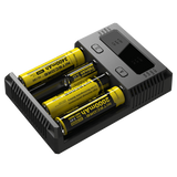 NITECORE NEW I4 INTELLICHARGER 2016 UNIVERSAL CHARGER