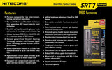 NITECORE SRT7 REVENGER 960 LUMEN SMARTRING RGB LED TACTICAL FLASHLIGHT