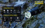 NITECORE TM06S 4X CREE XM L2 U3 LED FLASHLIGHT - 4000 LUMEN