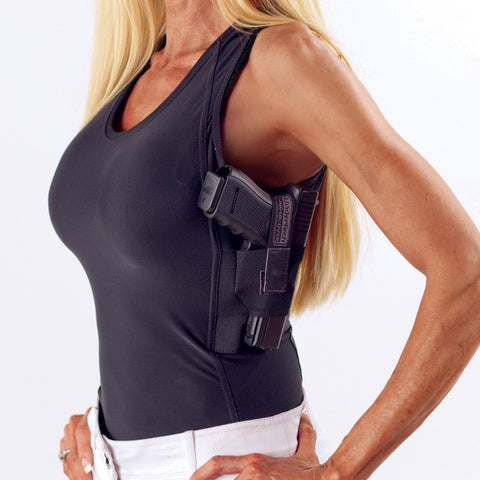 Women's Concealment Tank Top Single Shirt UTUC