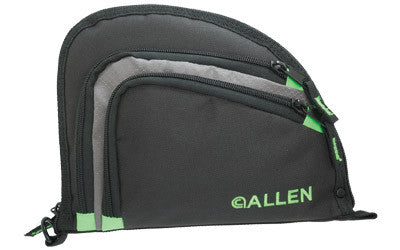 ALLEN AUTO-FIT HANDGUN CASE BLK/LIM