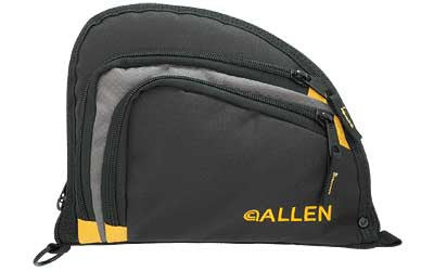 ALLEN AUTO-FIT HANDGUN CASE BLK/YEL