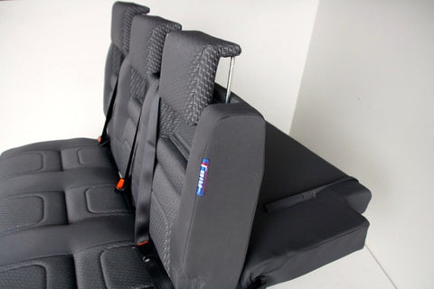 RIB Altair camper van seat with backrest down