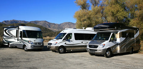 Campervans and motorhomes compared, class A, B & C