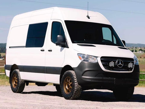 "2019 Mercedes Sprinter Van With 2"" Lift Kit - Campervan HQ"