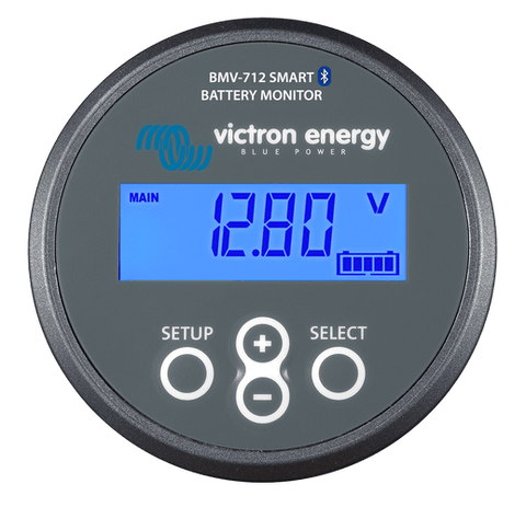 Victron BMV-712 Smart Battery Monitor Front - Campervan HQ