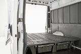 Decked Drawer System for Chevy Express/GMC Savana Cargo Van Inside View - Campervan HQ