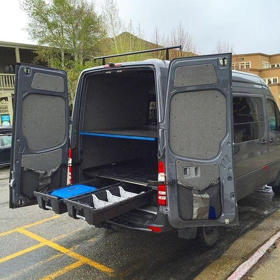 Decked Drawer System For Mercedes Sprinter 170 Quot Wb