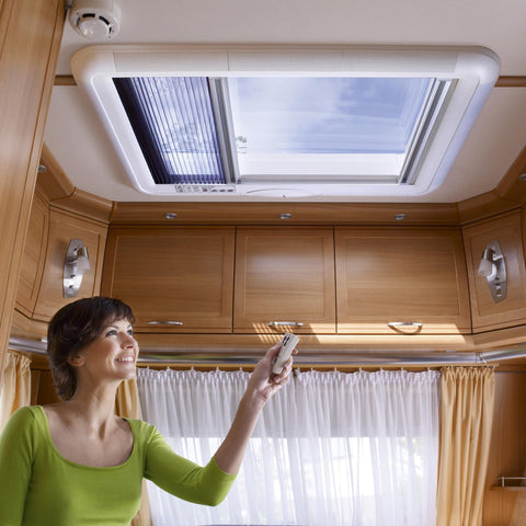Dometic Heki 4Plus RV Rooflight - Campervan HQ - 1