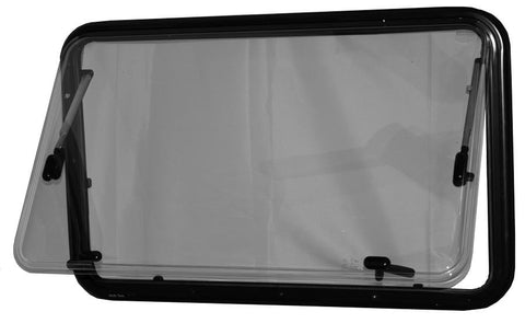 Double-Pane RV Window 550x900mm (Window Open) - Campervan HQ