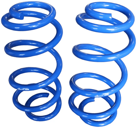 Ford Transit (2013+) Front 1″ Lift Coil Spring Kit (Blue Coil) - Campervan HQ