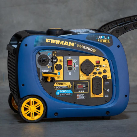 Firman WHO3042 Dual-Fuel Inverter Generator (3300W) - Campervan HQ