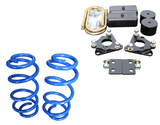 Ford Transit Topo 2.0 Front and Rear Lift Kit With Blue Coil- Campervan HQ