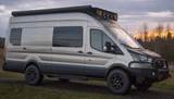 "Ford Transit 148""WB with FW294R Rear Quarter Vented Window - Campervan HQ"