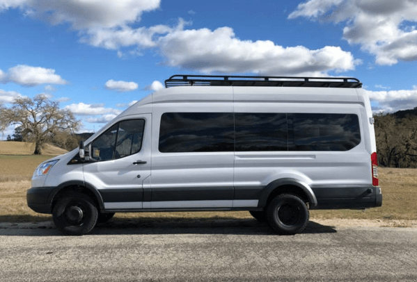 Ford Transit 350 HD Lift Kit (Front & Rear) – Campervan HQ