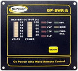 GP-SWR-B Inverter Remote for Solar Extreme RV Solar Kit - Campervan HQ