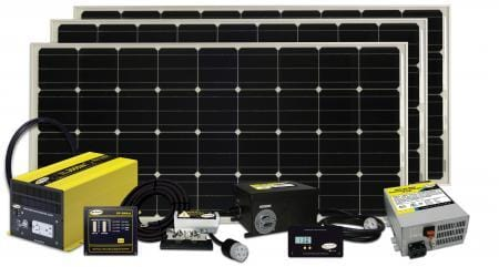 RV Solar Kit: Go Power 510W Solar Extreme System