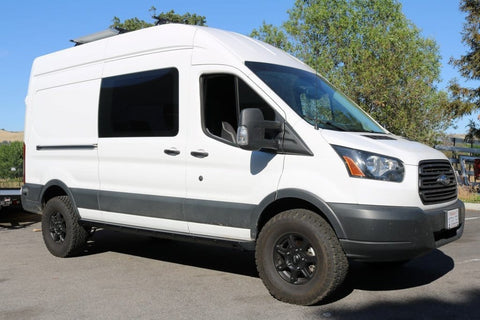 "Ford Transit (2015+) Rocker Guards Wheelbase 148"" - Campervan HQ"